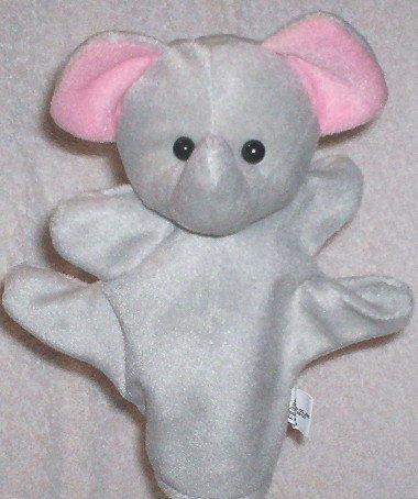 SOFT PUPPET ZOO ANIMAL PUPPET ELEPHANT Kids Forest Velour CHILDREN'S Theater Play Hand Toy