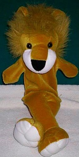 ZOO TAN LION PUPPET NEW THEATER ACTING Children's Mountian Animal Full Whole Body Hand Toy