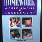 Homework: Assignment to assessment Paperback – 1994
