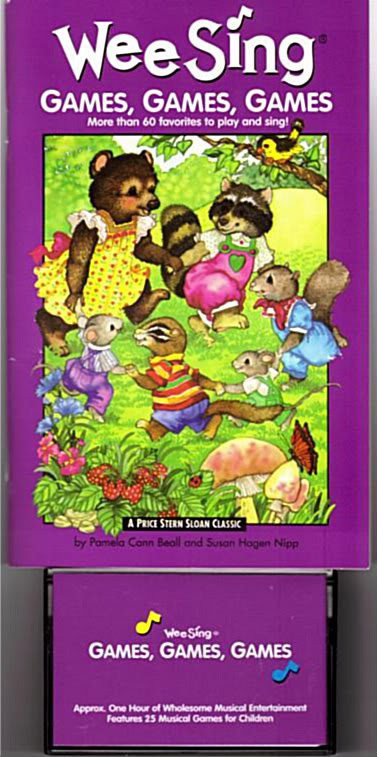 Wee Sing Games Games Games by Pamela Conn Beall (Author), Susan Hagen Nipp (Author)