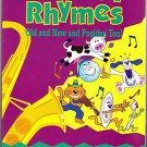 TWIN SISTERS NURSERY RHYMES Book Cassette Kids 2 pc Set