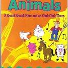 TWIN SISTERS FARM ANIMALS Book Cassette Kids 2 pc Set