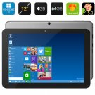 Chuwi Hi12 Tablet PC - 12 Inch IPS Screen, Windows 10 + Android 5.1, Intel Cherry Trail (Gray)