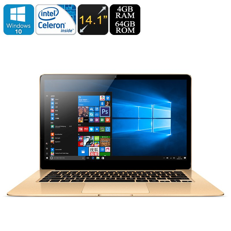 Windows Laptop Onda Xiaoma 41 - Intel Apollo Lake CPU, 2.2GHz, 14.1 Inch IPS Display, 1080p