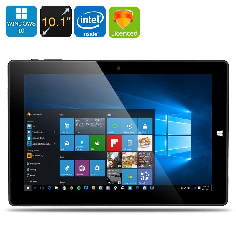Chuwi Hi10 Ultrabook Tablet PC - Licensed Windows 10 + Android 5.1, 64Bit CPU, 4GB RAM, 64GB Storage