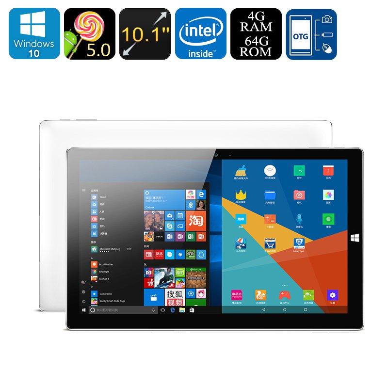 Onda Obook 20 Tablet PC - Windows 10 + Android 5.1 OS, Intel Atom Quad Core CPU, 4GB RAM