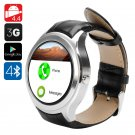 NO.1 D5 Android Smart Watch - 3G SIM, BT4.0, Wi-Fi, Google Play, Pedometer, Heart Rate, GPS (Silver)