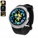 Z10 Android Smart Watch - Android 5.1, 3G SIM, Quad Core CPU, Google Play, OK Google (Silver)