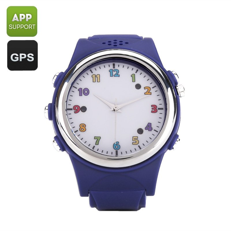 Kids Watch Phone With GPS Tracker - SOS, Digital Fence, Family Number