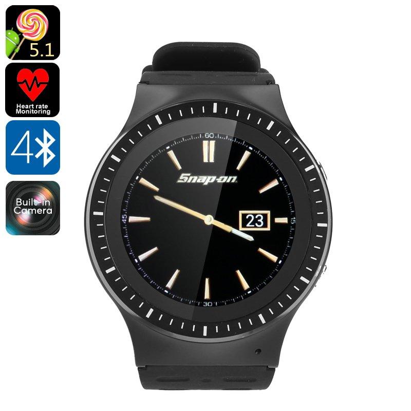 Android Watch Phone ZGPAX S99B - SIM Card Slot, 3G, WiFi, Heart Rate, Pedometer, Quad-Core CPU