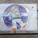 vintage gift wrap boys birthday wrapping paper Astronaut die cut