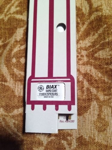 Compact Bulb Fluorescent Lamp 4-Pin Ge Biax L F18Bx/Spx35/Rs Rapid Start Usa