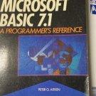 Microsoft BASIC 7.1  A Programmer's Reference