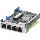 HP 331FLR Quad-Port RJ45 1GB Gigabit Ethernet Adapter Card 634025-001 629133-001