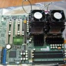 Supermicro X5DAL-G Server Motherboard with 2 x INTEL XEON 2.4GHz, 3 GB Ram, Disk