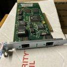 HP J2585A 2-Port 10/100VG PCI 32-Bit Ethernet LAN Interface Board, LOT OF TWO
