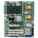 Supermicro X7DAL-E motherboard with dual Quad core Xeon cpu, fans, DVD disk