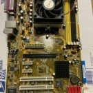 ASUS M2N, AM2+, AMD Motherboard and Athlon64 X2, Fan, support disk, accessories
