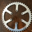 """T.A. 47 tooth Cyclotouriste Chainring TA 3/32"""" brand new, 47 denti"""