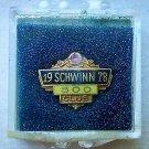 Schwinn 500 club collectors lapel pin 1978