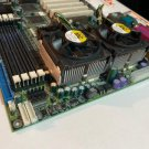 Nexcom NEX6320A-25BB socket 370 Motherboard, dual 800 Mhz cpu, Fans, SCSI