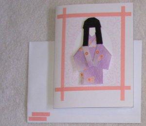 Doll: Pink Framed