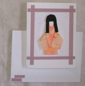 Doll: Purple Framed