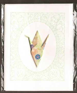 Crane: Green Framed