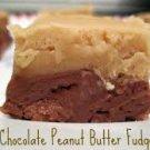 Chocolate Peanut Butter Bi-Layer Fudge Fudge 1lb