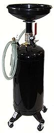20 Gallons Portable Oil Drain (2 Swivel Casters)