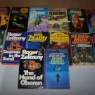 roger zelazny book lot 14 paperbacks used