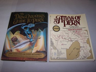 atlas of pern and dragonlovers guide to pern books