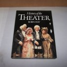 history of theater by robin may hard cover book with jacket 1986
