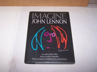 imagine john lennon by andrew scott and sam egan hard cover book with jacket 1988