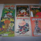 lot of vintage children magazines jack and jill 1978 humpty dumpty 1981 children's playmate 1977
