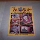 heartfelt leisure arts iron on transfer book 1998 susan fouts