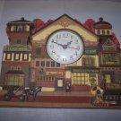 collins company wallhanging and clock old stockbridge clock 1989 scholer