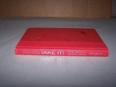 take it by yogi berra hc book 2001