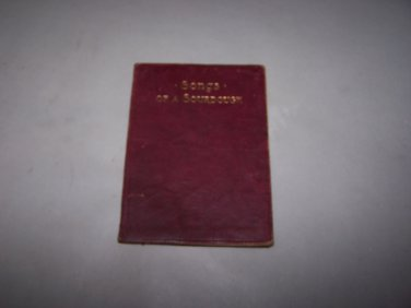 ballads of a cheechako robert w service soft leather cover book 1911
