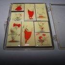 iwf pig magnets set of nine