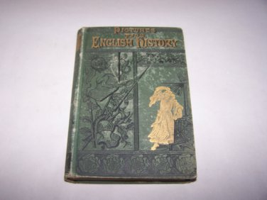 pictures from english history 1883 hc book coleman e bishop
