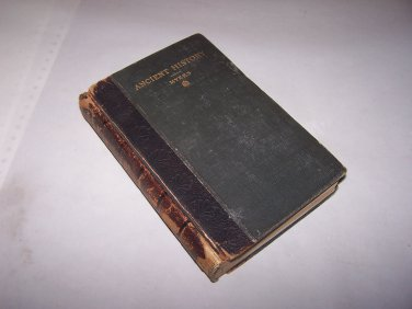 ancient history hc book 1904 philip van ness myers