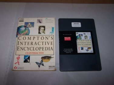 compton's interactive encyclopedia philips interactive 1992 game