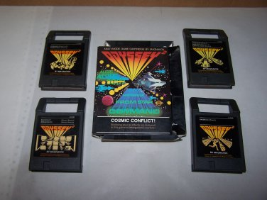odyssey 2 game lot cosmic conflict speedway baseball