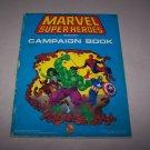 marvel superheroes campaign book 1991 tsr marvel