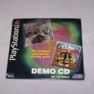clock tower felony 11 79 demo disc playststion underground 1997