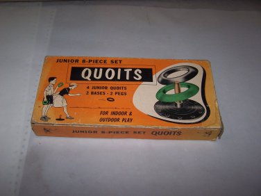 quoits vintage ring toss game 4 junior quoits