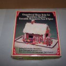 gingerbread house bake set 1979 fox run craftsmen complete