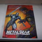 metal gear solid poster video game adv allan ditzig artist