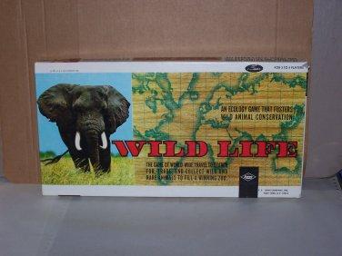 wild life game lowe 1971 rare board game